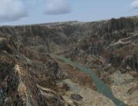 Screenshot of Grand Canyon scenery.