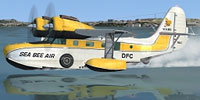 Screenshot of Sea Bee Air Grumman Goose on the water.
