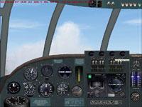 Screenshot of Short Empire virtual cockpit.
