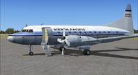 Screenshot of Sierra Pacific Convair 580 (front left).