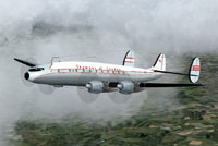 Screenshot of Skyways of London L-749 Constellation in flight.