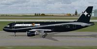 Screenshot of Smart Wings Airbus A320 on runway.