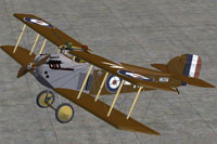 Screenshot of Sopwith 5F-1 Dolphin on the ground.