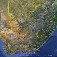 Overview of South Africa Airfields.