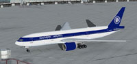 Screenshot of Southern Airlines Boeing on the ground.