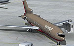Screenshot of Southwest Airlines Boeing 727-200 on the ground.