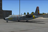 Screenshot of SAF Fokker F27 SAR on the ground.