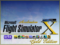 Splash Screen representing GOLD/ORBX/REX.