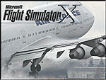 Black and white Splash Screen featuring a Boeing 747.