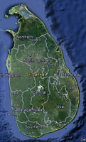 Overview of Sri Lanka Airfields.