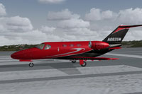Screenshot of Stream Realty C510 Mustang on runway.