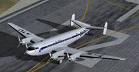 Screenshot of Sud-Est SE161 Languedoc on runway.