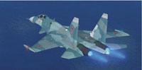 Screenshot of Sukhoi Su-33 Flanker in flight.