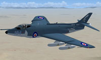 Screenshot of Supermarine Scimitar in flight.