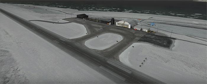 Svalbard runway