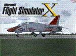 Splash Screen showing T-45C Goshawk on runway.
