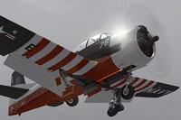 Screenshot of T28D Trojan Bicentennial Scheme in the air.