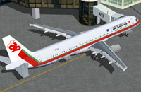 Screenshot of TAP Air Portugal Airbus A321-211 at the gate.