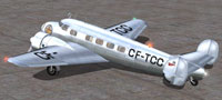 Screenshot of TCA Lockheed Electra L 10-A on the ground.