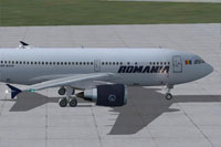 Screenshot of Tarom Airbus A310-300 on the ground.