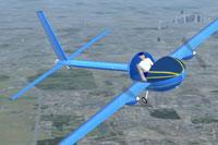 Screenshot of The Scoop in flight.