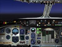 Screenshot of Douglas DC-10 panel.