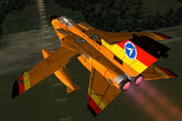 Screenshot of Tornado WTD61 with afterburners.