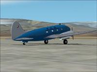 Screenshot of Transportes Aereos Squella C-46C on the ground.