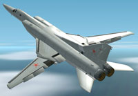 Screenshot of Tupolev TU-22M3 in flight.