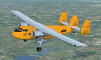 Screenshot of Twin Pioneer G-APHY in flight.
