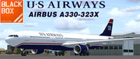 Screenshot of US Airways Airbus A330-300.
