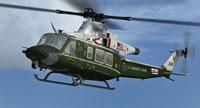 Screenshot of US Marine Corps Bell UH-1Y Venom in flight.