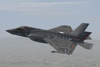 Screenshot of F-35C VFA-211 in flight.