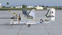 Screenshot of US Navy S2F-3 VX-1 on the ground.