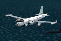 Screenshot of VX-1 Lockheed SP2-H in flight.