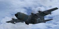 Screenshot of USAF AFSOC MC-130 in flight.