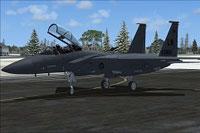 Screenshot of USAF F-15E Lakenheath on the ground.