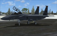 Screenshot of USAF F-15E Lakenheath on the ground.