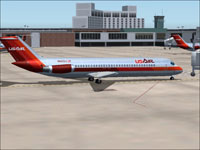 Screenshot of USAir Douglas DC-9-30 on the ground.