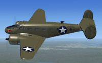 Screenshot of USMC JRB-1 1943 in flight.