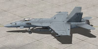 Screenshot of USMC VMFA-323 F/A-18E on the ground.