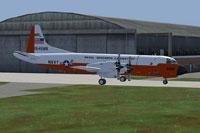 Screenshot of Lockheed NP-3 Orion taxiing to runway.