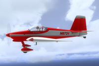 Screenshot of Vans Aircraft RV-7 N6731 in flight.