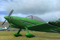 Screenshot of Vans RV-8 ZK-PJH on the ground.