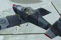 Screenshot of Vans RV7 C-GREY in flight.