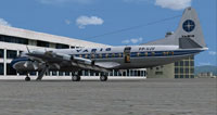 Screenshot of Varig Lockheed L-188 on the ground.