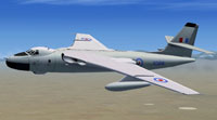 Screenshot of Vickers Valiant in flight.