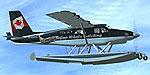 Screenshot of DHC2A Mk3 Turbo Beaver Amphibian in flight.