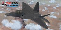 Screenshot of Virtavia F-22 Raptor in flight.