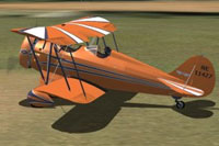 Screenshot of WACO QCF-2 on the ground.